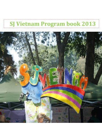SJ Vietnam Program book 2013