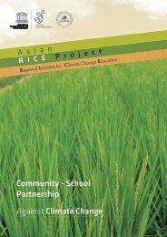 Community - School Partnership Against Climate Change