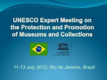 11-13 July 2012, Rio de Janeiro, Brazil - Unesco