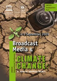 Broadcast Media & - Unesco