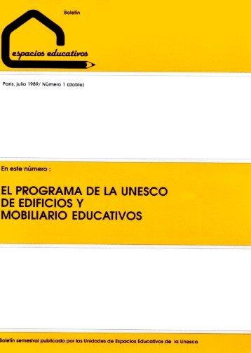 El Programa de la UNESCO de Edificios y Mobiliaro Educativos