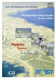 Développement urbain durable en zone côtière (1) - Unesco