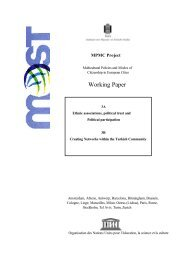 MPMC Working Paper 3 - Unesco