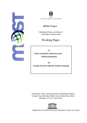 MPMC Working Paper 3 - Unesco
