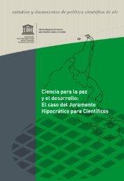 el caso del Juramento Hipocrático para Científicos - Unesco