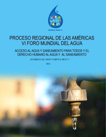 PROCESO REGIONAL DE LAS AMÉRICAS - ONU-Hábitat