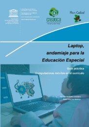 Laptop, andamiaje para la Educación Especial Guía práctica - Unesco
