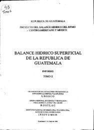 BALANCE HIDRICO SUPERFICIAL DE LA REPUBLICA DE - Unesco