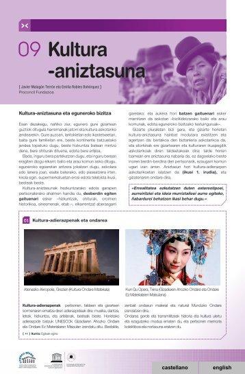 09 Kultura -aniztasuna - Unesco Etxea
