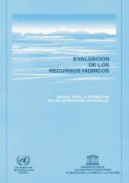 evaluación de los recursos hídricos manual para la ... - Infoiarna