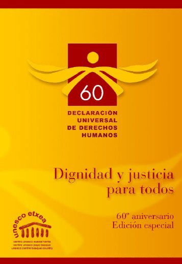 SRB-Derechos Humanos cast - Unesco Etxea