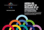 Agenda del estudiante de movilidad de la UEX - Universidad de ...