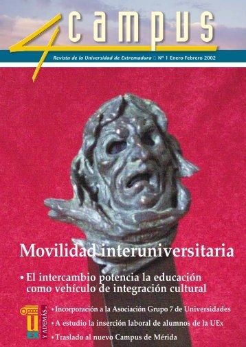 Movilidad interuniversitaria - Universidad de Extremadura