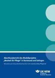 """Abschlussbericht des Modellprojekts """"Neuheit ... - Unfallkasse NRW"""