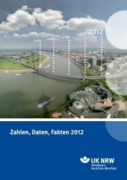 Zahlen, Daten, Fakten 2012 - Unfallkasse NRW