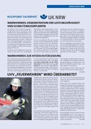 November 2013 - Unfallkasse NRW