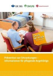Prävention von Erkrankungen – Informationen ... - Unfallkasse NRW