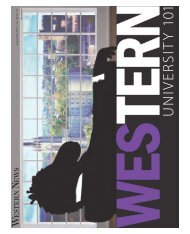 August 23, 2012 / V ol. 48 No. 21 - Western News - University of ...