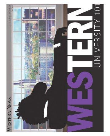 August 23, 2012 / V ol. 48 No. 21 - Western News - University of ...