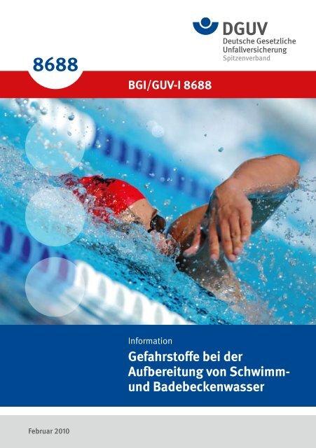 """Gefahrstoffe bei der Aufbereitung von Schwimm - """"Publikationen ..."""