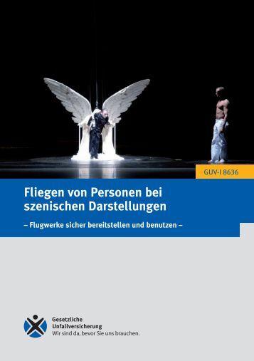 GUV-I 8636 - Fliegen von Personen bei szenischen ... - DTHG