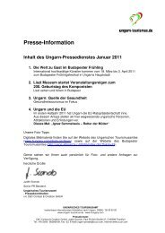 Pressedienst Ungarn Januar 2011
