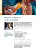Sturzunfälle sind vermeidbar – Sicher leben auch ... - komfort erleben - Page 4
