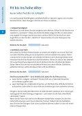 Sturzunfälle sind vermeidbar – Sicher leben auch ... - komfort erleben - Page 6