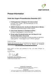 2011-12-Dezember - Pressedienst Ungarn