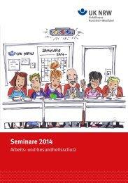 Seminare 2014 - Unfallkasse NRW