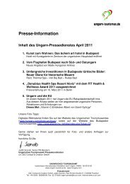 Ungarn Pressedienst April 2011