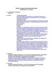Referat af ungdomsskolebestyrelsesmøde Tirsdag den 19. Juni 2012