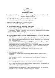 Læs referat fra d. 5. januar 2009 her - Faxe Kommunale ...
