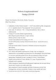 Læs referat fra d. 29. september 2009 her