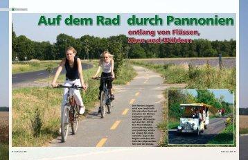 Auf dem Rad durch Pannonien - Ungarn - Keine Berge und doch ...