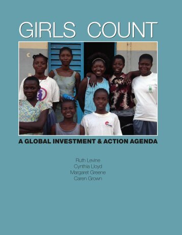 A GLOBAL INVESTMENT & ACTION AGENDA - United Nations Girls ...