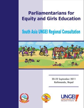 South Asia UNGEI Regional Consultation - United Nations Girls ...