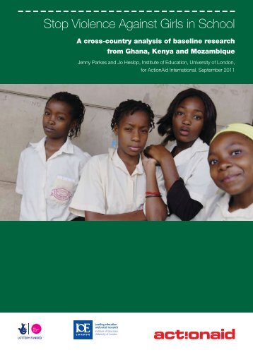 Stop Violence Against Girls in School - National Center on Domestic ...