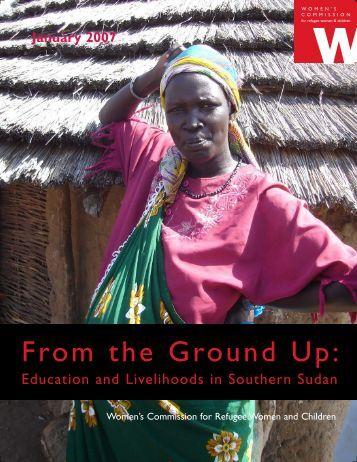 South Sudan 01 07.qxp - United Nations Girls' Education Initiative