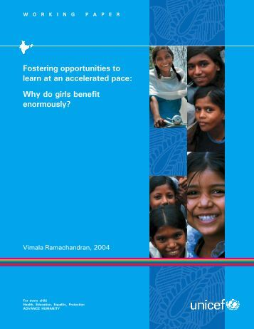 Cover - United Nations Girls' Education Initiative