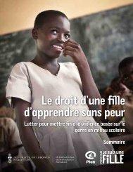 Le droit d'une fille d'apprendre sans peur - United Nations Girls ...