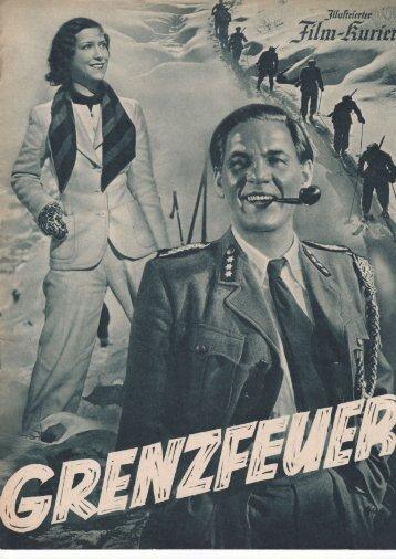 """Illustrierter Film-Kurier """"Grenzfeuer"""""""