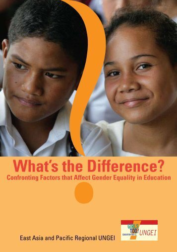 What's the Difference? - United Nations Girls' Education Initiative