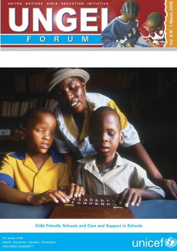 March Cover n Text.indd - United Nations Girls' Education Initiative