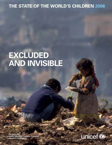 EXCLUDED AND INVISIBLE - Unicef
