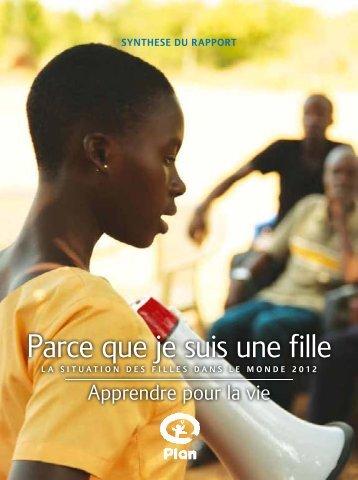 Apprendre pour la vie - United Nations Girls' Education Initiative