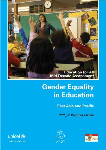Gender ProgressNote - United Nations Girls' Education Initiative