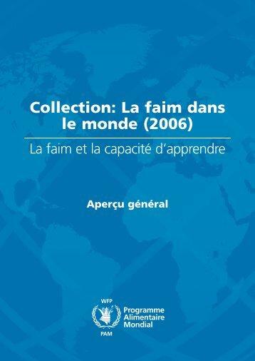 Collection: La faim dans le monde (2006)