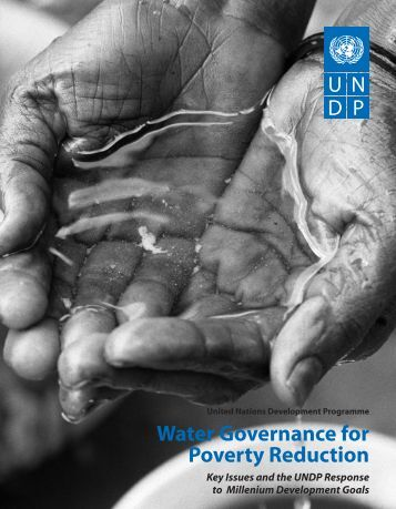 Water Governance for Poverty Reduction - United Nations Girls ...