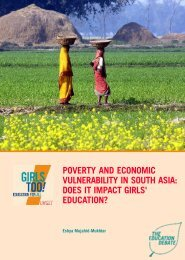 Poverty and Economic Vulnerability in South Asia - United Nations ...
